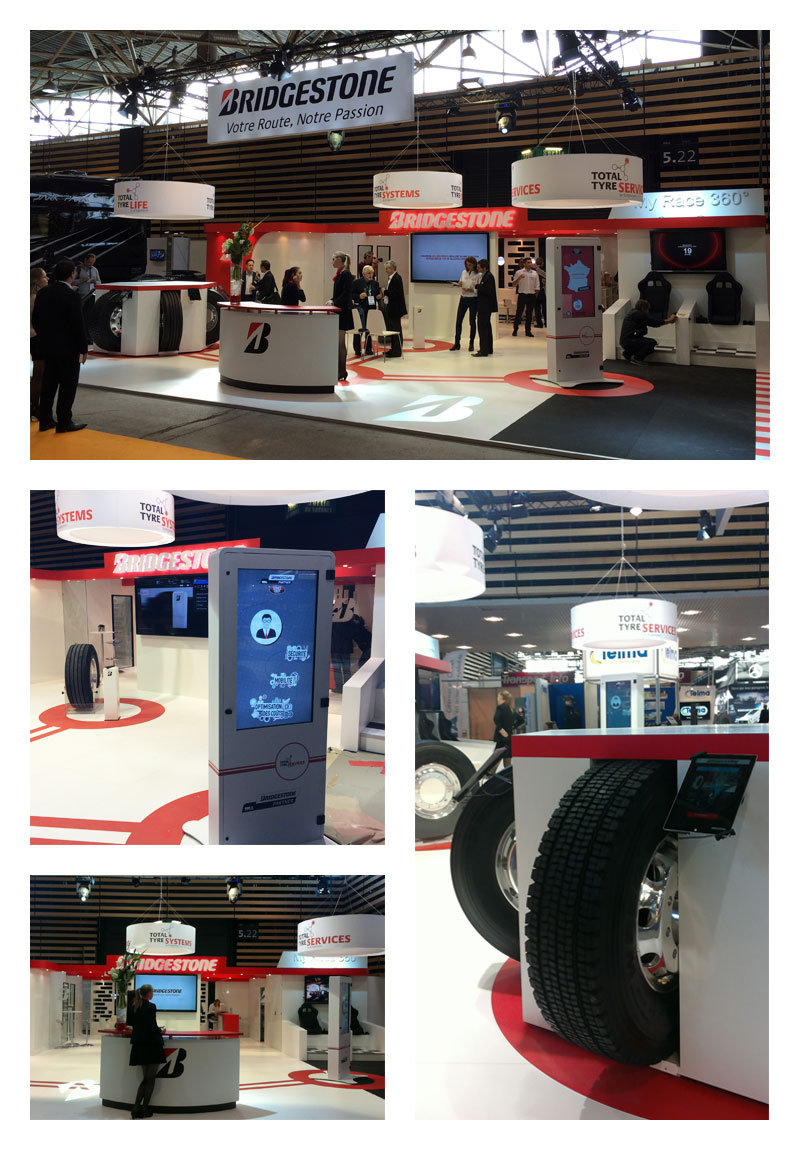 Bridgestone / Salon Solutrans 2015